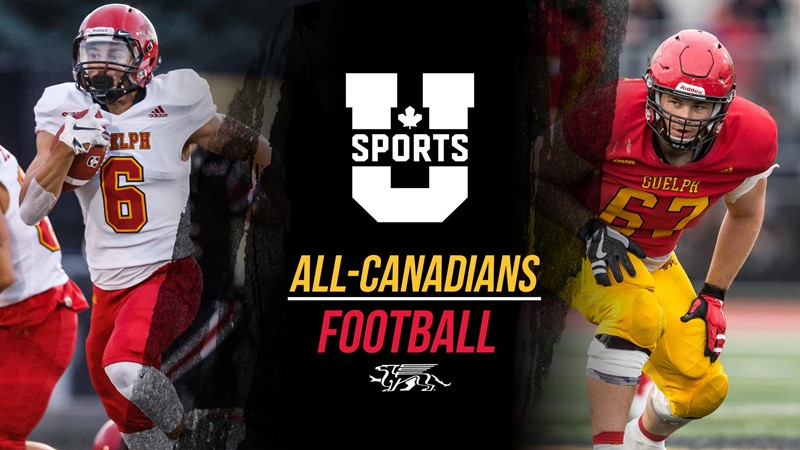 FB: Clark Barnes & Coulter Woodmansey Named U SPORTS All-Canadians