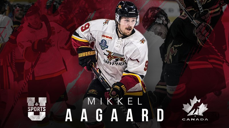 MHKY: Mikkel Aagaard Named to U SPORTS All-Star Team to Face Team Canada World Juniors