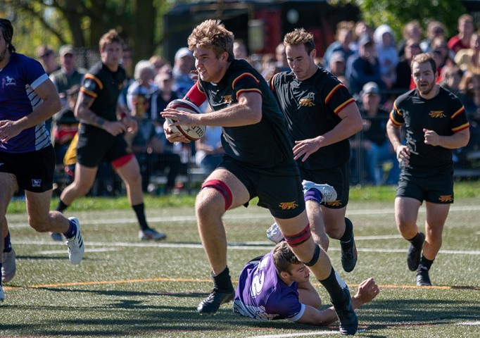 """MRGBY RECAP: Gryphons Win 44-27 Over Western on """"Gryphon Rugby Day"""""""
